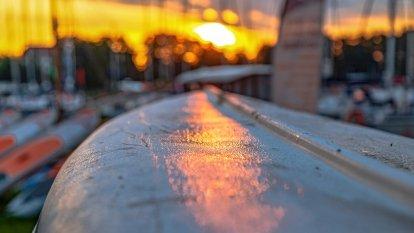 Wrześniowy wschód słońca